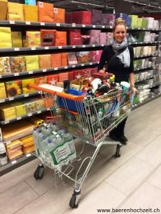 Beim Einkaufen...