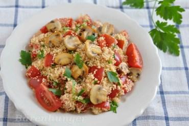 Couscous Champignon Salat