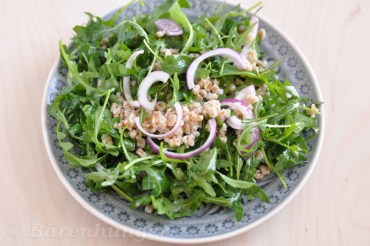 Dinkel Rucola Salat