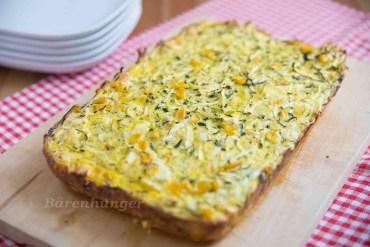 Zucchini Schnitten mit Feta