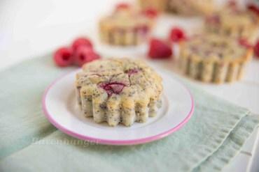 Himbeer Mohn Frischkäse Muffins