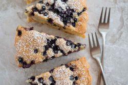Heidelbeer Vanille Kuchen