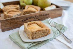 Birnen Mandel Kuchen