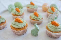 Oster Rübli Muffins mit Limetten Creme