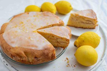 Apfel Grieß Zitronen Kuchen