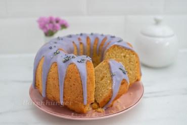 Zitronen Lavendel Gugelhupf