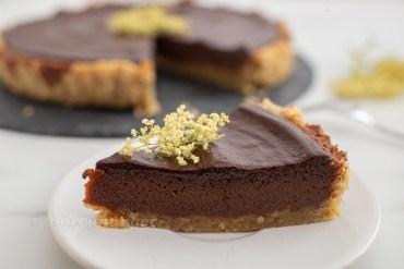 Holunder Schokoladen Tarte