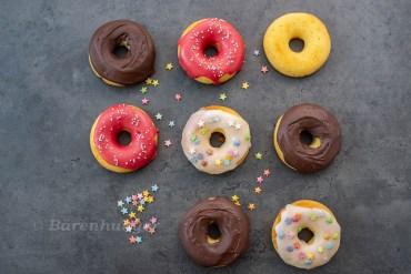 Buttermilch Donuts aus dem Ofen