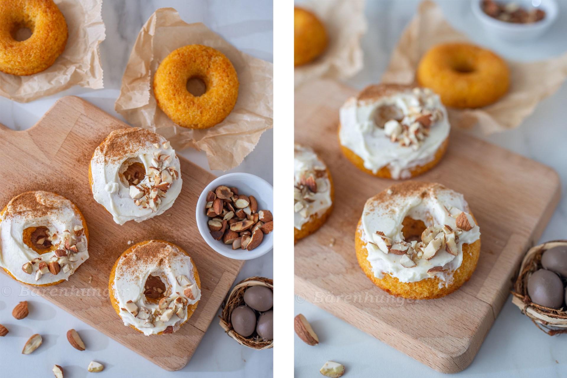 Karotten Donuts