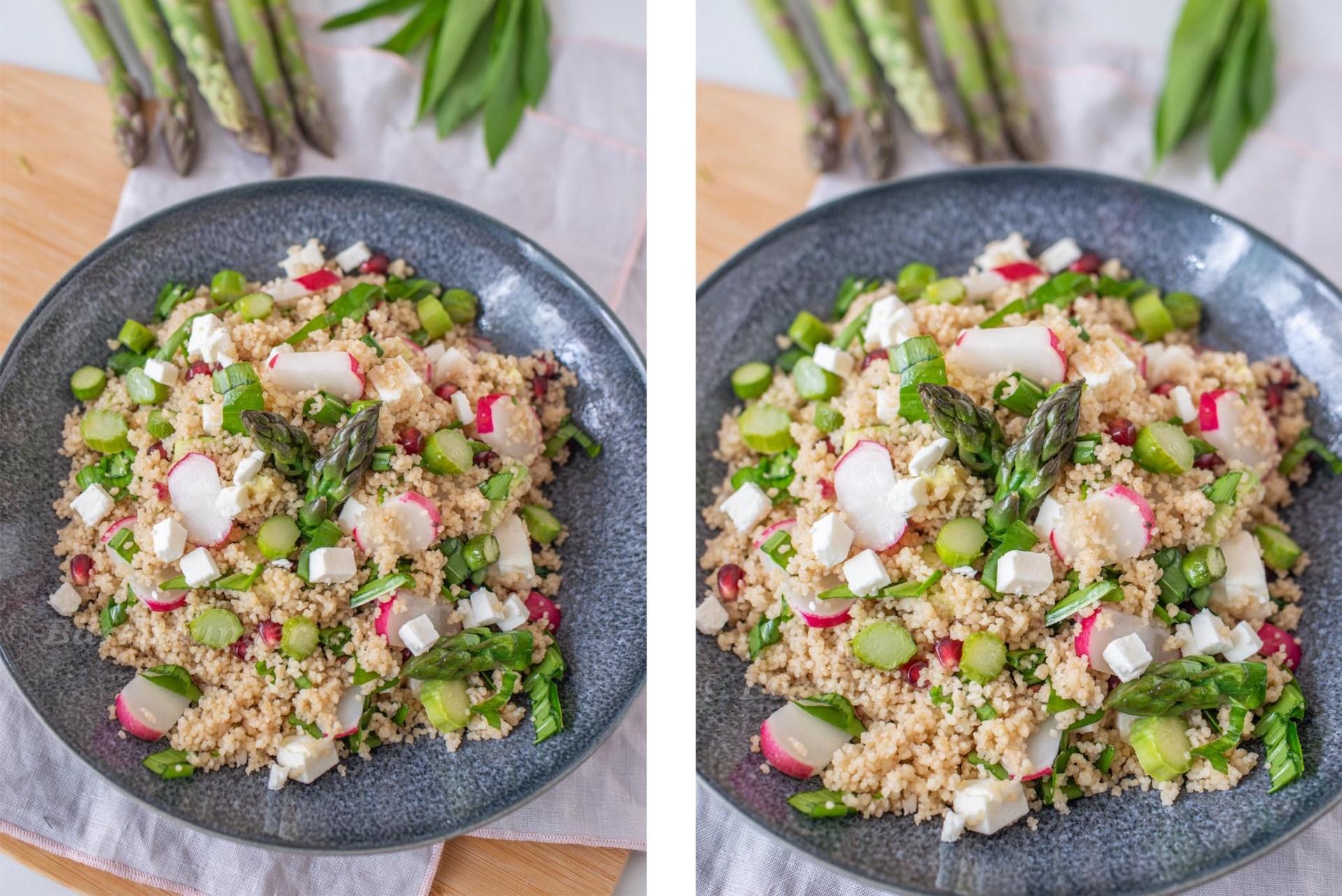 Couscous Salat Primavera