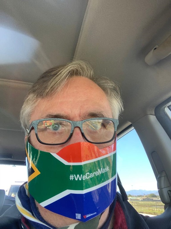 SOUTH AFRICA #WeCareMask: FACE MASKS IN TIMES OF COVID-19 – One of South Africa's Largest Print Management companies, 'Complete Print' assist the nation in producing high volume special 'Barrier Face Masks' made from water resistant 'Tyvek'.