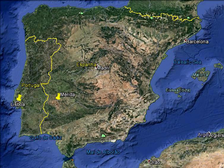 mérida espanha mapa Mérida – A cidade mais romana da Espanha » Bagagem de Bordo mérida espanha mapa