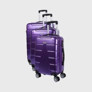 Manoukian Set de 3 valises rigides