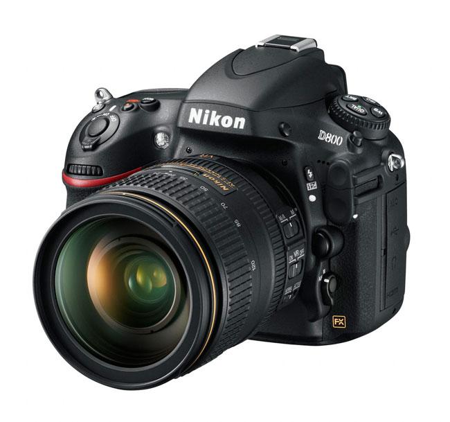 Nikon D800 (foto: divulgação)
