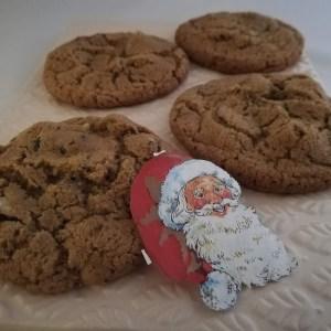 Jule cookies med tranebær og hasselnødder. Disse jule cookies er et godt supplement, til de mere traditionelle danske julekager. De har en dejlig krydret smag, men ikke for kraftig. Lige som mine andre cookies så tager de ikke så lang tid at lave. Så skulle gæster melde deres ankomst i december, om kort tid, så er det disse kager du skal lave, og de bliver mødt af rigtig jule duft. De smager rigtig godt til et glas varm gløgg, hvid og røde gløgg.