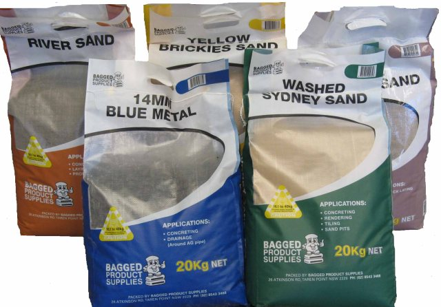 Bagged building products