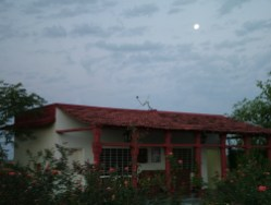 Full Moon in Ranthambore