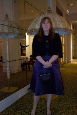 Lucinda at the Grosvenor