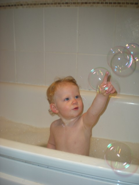 I'll get that bubble!