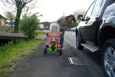Wheelie!