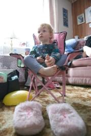 Auntie Liz's slippers