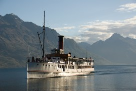 MSS Earnslaw, Queenstown