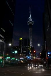 Aukland at night