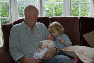 Granddad, Éowyn and Amélie