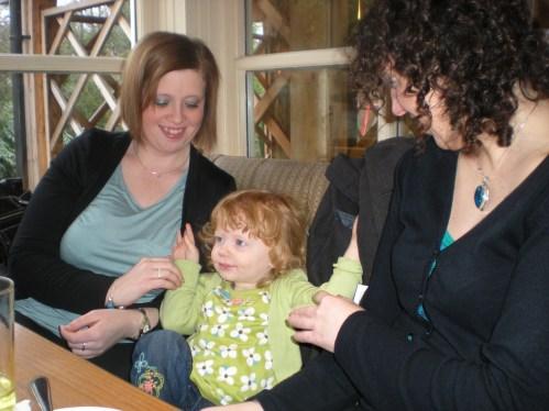 Tickling my aunties