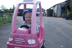 I like driving in my car!