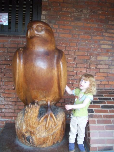 Why the big bird?