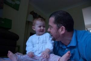 Amélie and Daddy