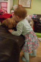 Beating up my big sister