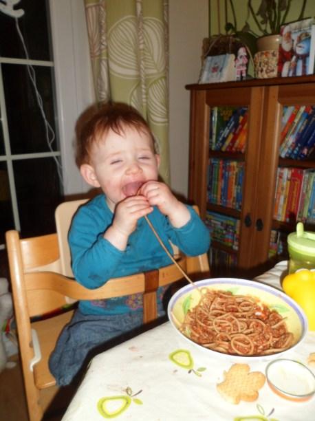 I like spaghetti