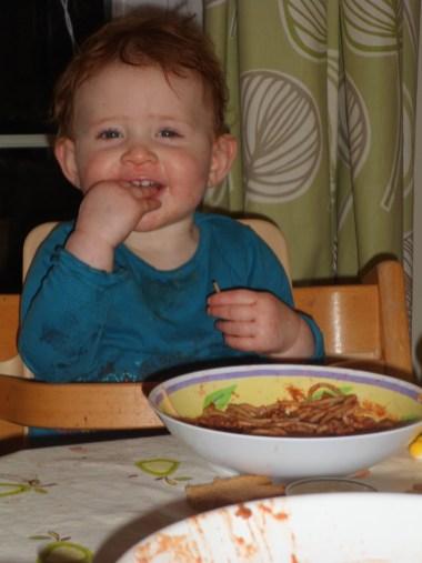 Dinnertime's great!