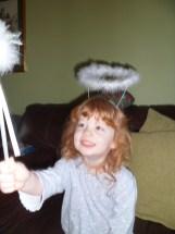 I'm a fairy (with a halo?)