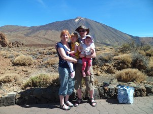 The Bagnalls at Mount Tiede