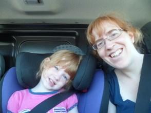 Éowyn and Mommy!