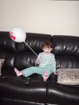 Like my balloon?