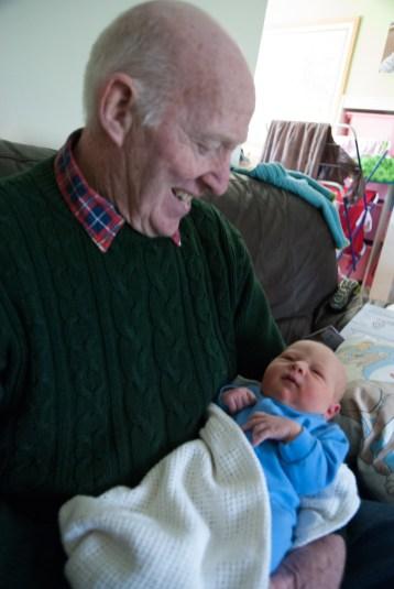 Granddad and Grandson