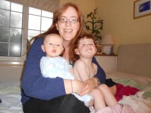 Mommy, Amélie and Ezra