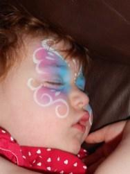 Sleeping Butterfly