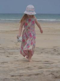 The sand beneath my feet