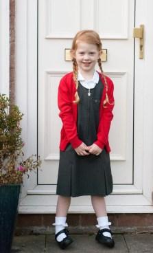 Éowyn, ready for school