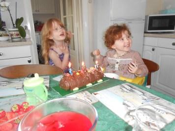Birthday girl (and big sister)