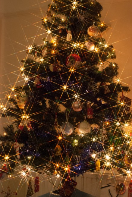 Star filtered Christmas Tree