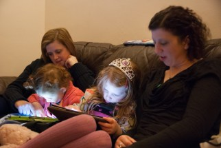 iPad distraction