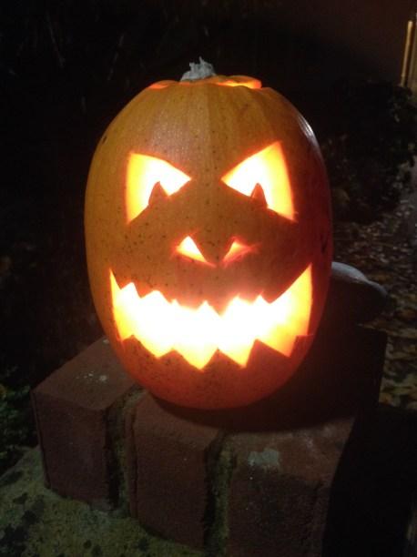 Jack-o'-lantern!