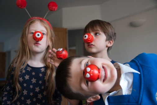 Red-Nose Day shenanigans
