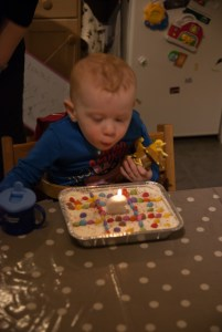 Blow out that candle